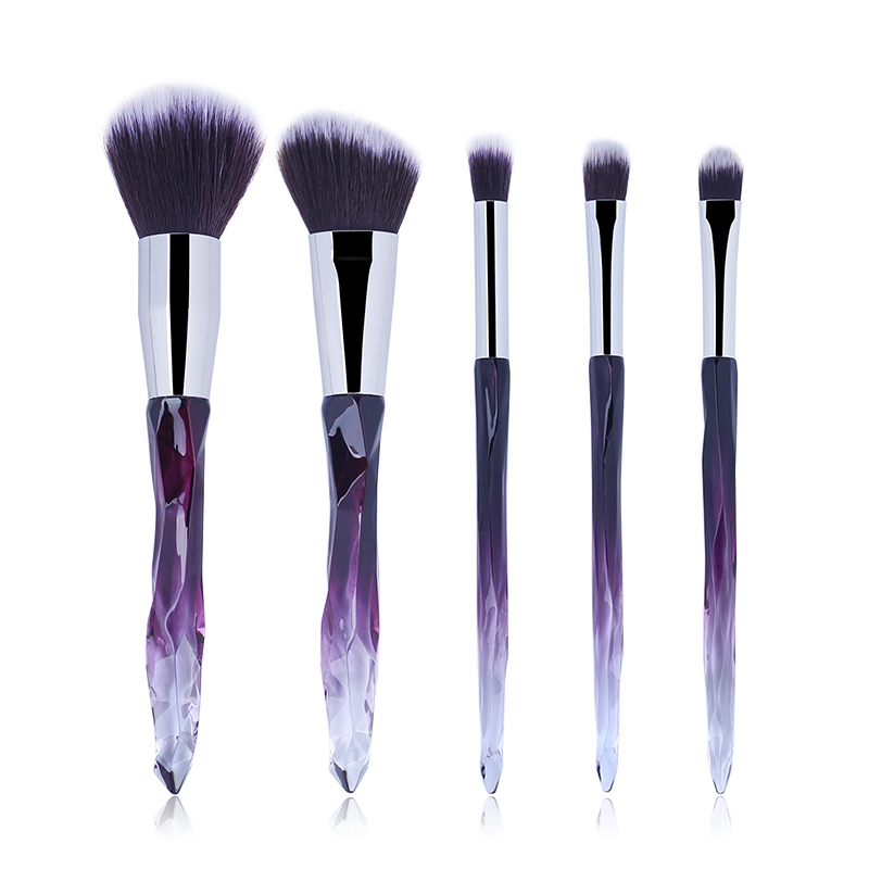 5pc/Lot Makeup Brushes Tool Kit Set Professional Sets Of Brushes For Makeup Blush Powder Women Beauty Natural Soft Powder Face