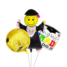 Hot Doctor Balloons Star Round Graduation Grad Globos Gift Back To School Party Decorations Birthday Decor