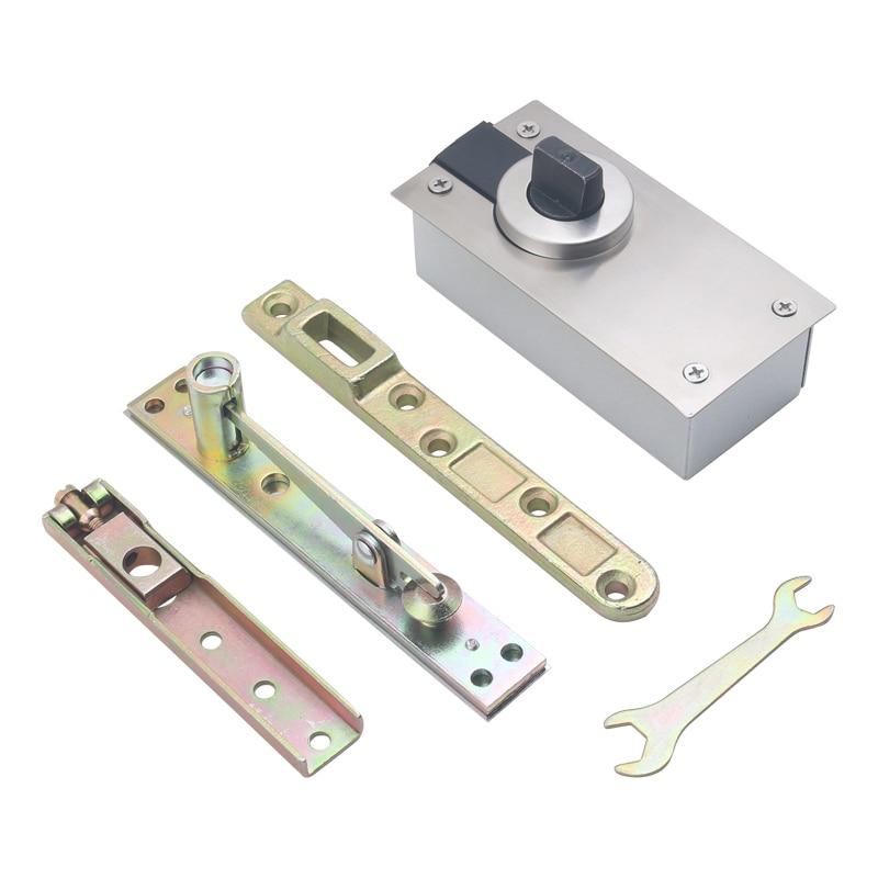 Charnières de Pivot de porte invisibles et rotatives à 360 degrés, haute qualité, robustes, installation de haut en bas, charge de 400KG, 2 ensembles