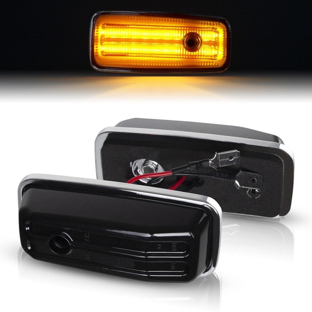 Динамический светодиодный боковой габаритный мигалка ретранслятор сигнала поворота светильник для Mercedes-Benz g-класс W463 W461 G500 G550 G55 G63 G65