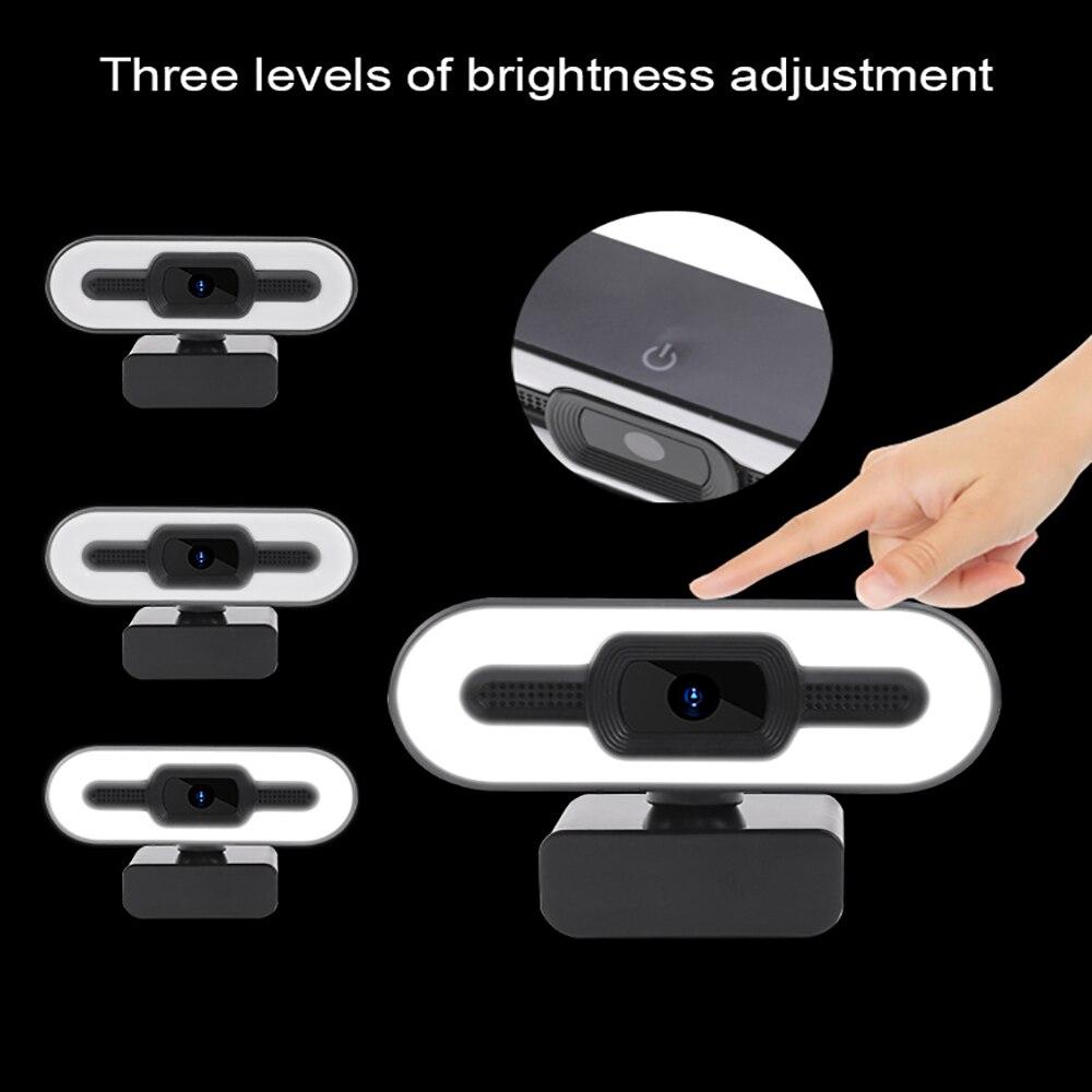 webcam 1080p com luz do anel camera 01