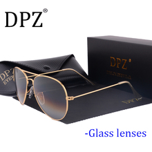 Dpz Glass lenses Gradient women sunglasses men 58mm 3025 Mirror G15 Gafas hot