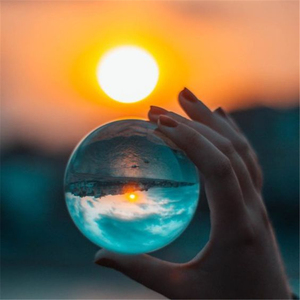 3/5/6 см с украшением в виде кристаллов круглый бисер фотографии Стекло кристаллы ремесло Цвет Волшебные натуральные Стекло шары подарок для ...