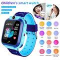 Q12B Детские Смарт-часы телефон водонепроницаемый LBS Smartwatch дети позиционирование вызов 2G SIM карта удаленный локатор часы для мальчиков и дево...