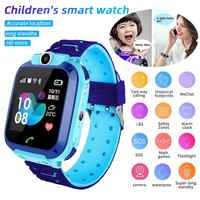 Q12B Children's Smart Watch Phone Waterproof LBS Smartwatch Kids Positioning Call 2G SIM Card Remote Locator Watch Boys Girls