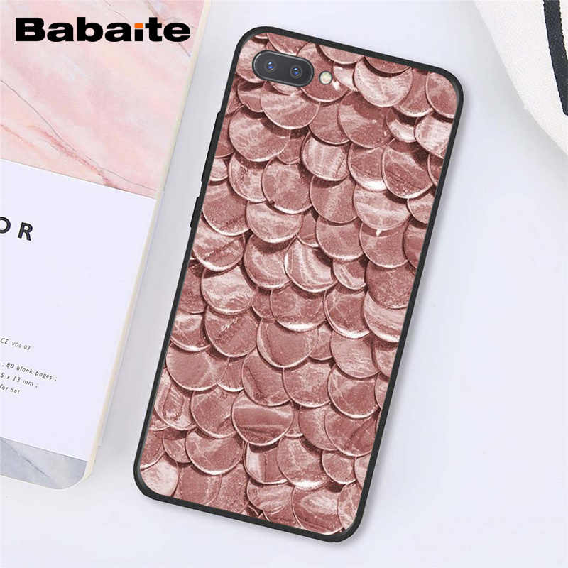 Babaite Gold Rose Glitter Rosa Liebe Herat Telefon Fall für Huawei Ehre 8X 9 10 20 Lite 7A 8A 5A 7C 10i 8C 9X Pro