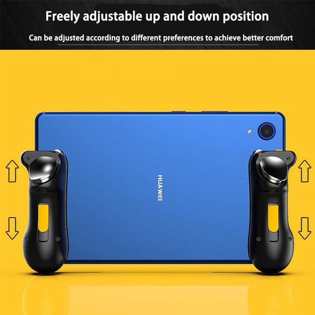 PUBG Ipad Trigger Controller Capacitance L1R1 Fire Aim Button Gamepad Joystick For Ipad Tablet Phone FPS Game Accessories