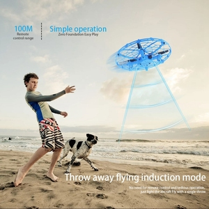 Image 5 - Mini Drone UFO Dron With Camera Gesture Gravity Induction Drones Quadcopter Anti collision Magic Hand UFO Ball Aircraft Kids Toy