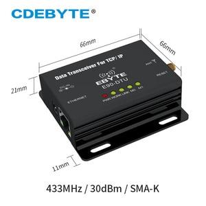Image 2 - E90 DTU 433C30E Ethernet Modbus Lange Palette 433 MHz 1W IoT uhf 3km Wireless Transceiver rf Modul 433 MHz Sender empfänger