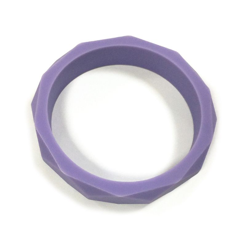 Silicone Chew Biting Bracelet Baby Teething Teether Bangle Chewy Beads L