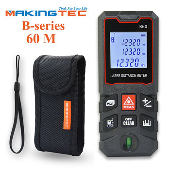 MAKINGTEC Laser Meter Laser Tape 40M50M Digital Tape Measuring Device Laser Distance Meter Digital Rangefinder Tape Measure tool makingtec laser meter laser distance meter 40m60m laser rangefinder laser measure digital measuring tape range finder roulette