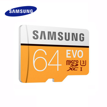 SAMSUNG EVO Micro SD 64GB 128GB Memory Card Class10 TF/SD Cards C10 R100MB/S MicroSD XC UHS-1 Support 4K UItra HD