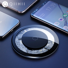 QIIHII 5W Qi Wireless Charger For iphone X XR XS Max Phone Samsung S10 S9 Fast Xiaomi