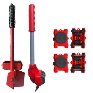 Move-Tools Furniture-Lifter Transport 5pcs Wheel-Bar Heavy-Stuffs