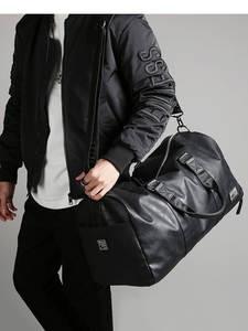 Handbag-Bag Storage Luggage-Shoulder-Bag Duffle Travel-Bag Large Independent-Shoes Black