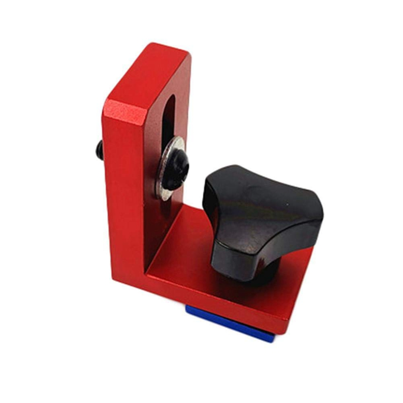 Woodworking Chute Dedicated Limiter Standard 30 T-Slot Miter Track Stop Sliding Miter Gauge Fence Connector Rail Retainer Chute