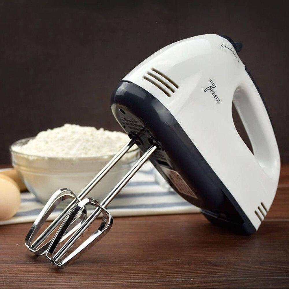 Многофункциональный 7 скоростной мини миксер Электрический Миксер ручной миксер для яиц автоматический миксер для крема миксер теста для выпечки|Миксеры| | АлиЭкспресс