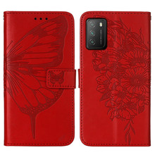 Phone Case For POCO M3 Case PU Leather butterfly Wallet slot Case On Xiaomi POCO M3 Flip Case For POCO X3 NFC Funda Cover Etui