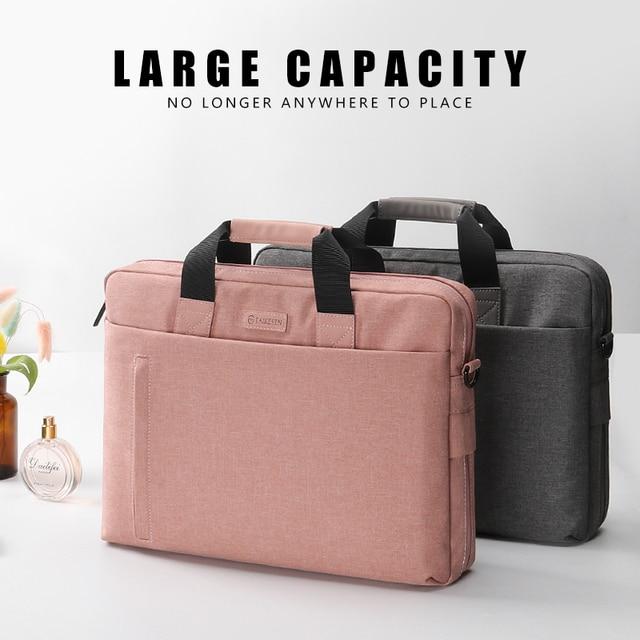 Laptop Bag case 13.3 14 15.6 17.3 Inch Waterproof Notebook Bag for Macbook Air Pro 13 15 Computer Shoulder Handbag Briefcase Bag 3