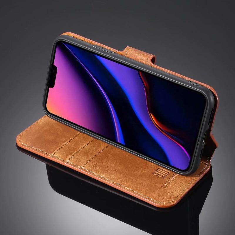 Premium Leather Flip Wallet Case for iPhone 11/11 Pro/11 Pro Max 4