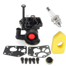 New 1 Set New Style Practical Durable Carburetor Kit For Briggs & Stratton 3HP To 4HP Engines 9B902 98902 98982 carburetor fits engines replacement parts for briggs stratton 498298 495426 accessories