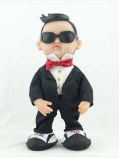 Electric Plush Toys Creative Doll Jiangnan Stay Bird Uncle Singing Dancing