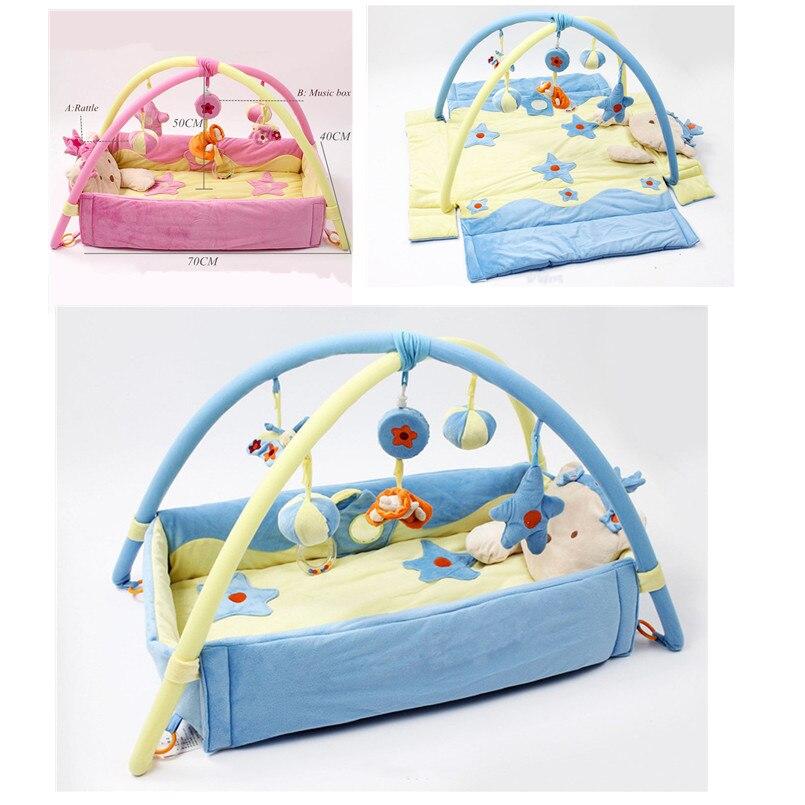 Tapis de jeu bébé tapis enfants jouets éducatifs tapis tapis de jeu bébé gymnastique développement activité ramper tapis de jeu pour 0-1 an