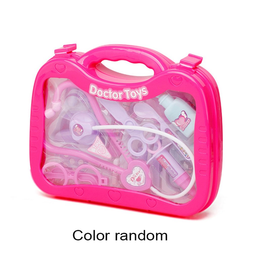 OCDAY 13PCS Doctor Pretend Play Toys Set Medical Kit For Kids Educational Toy Kids Role Play Games Tools Pretend Girl Gifts Toys