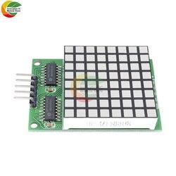 8x8 8*8 8X8, квадратная матрица, Красный светодиодный дисплей, модуль привода Dot 74hc595 для Arduino UNO R3 MEGA2560 DUE Raspberry Pi Board