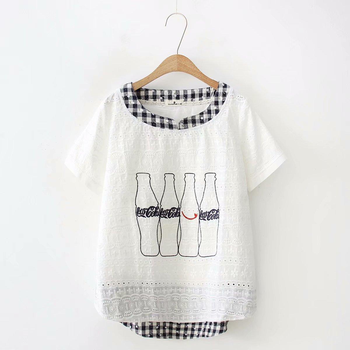 2018 New Women T-shirts Short Sleeve O-neck Summer T-shirt Women Tops