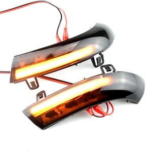 Image 2 - Water Blink Dynamic Flowing Side Mirror LED Turn Signal Light For VW Passat B5.5 B6 R36 R32 Jetta MK5 Golf 5 GTI Sharan SuperB