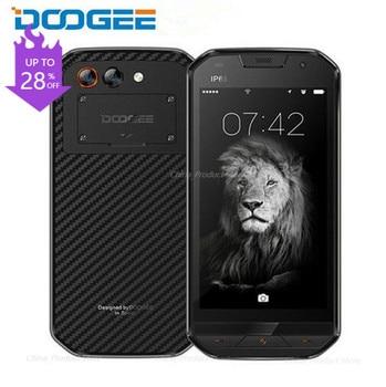 DOOGEE S30 4G LTE IP68 Waterproof Rugged Mobile Phones 5580mAh Side Fingerprint 5V/2A 5.0