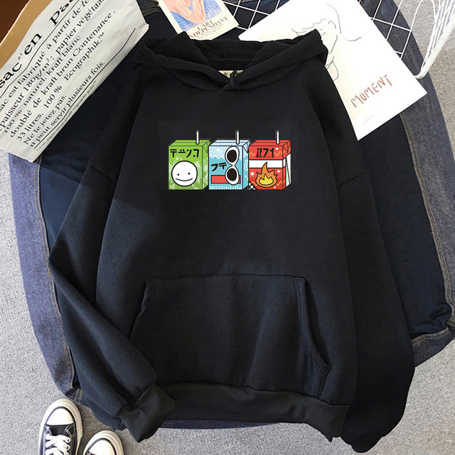 Dream Team Juice Boxes Hoodie Dream Smp Aesthetic Oversized Harajuku Sweatshirts Womens Unisex Graphic Long Sleeve Clothes Tops 4