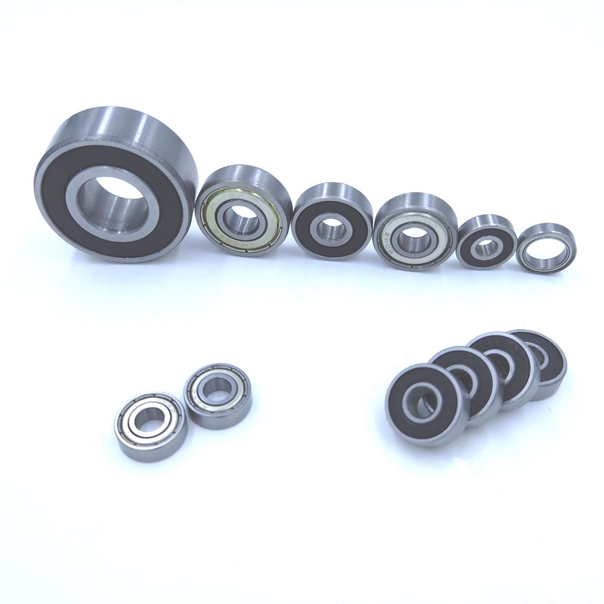 Deep-Groove-Ball-Bearings 608Z 608RS ZZ 2RZ AEBC-5 8x22-X-7mm
