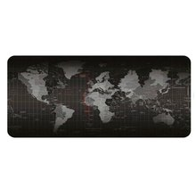 2020 New Huge Extra Large Size Gaming Mouse Pad World Map Pattern Rubber Pad Locked 700*300 For Optical Trackball Laser Mouse
