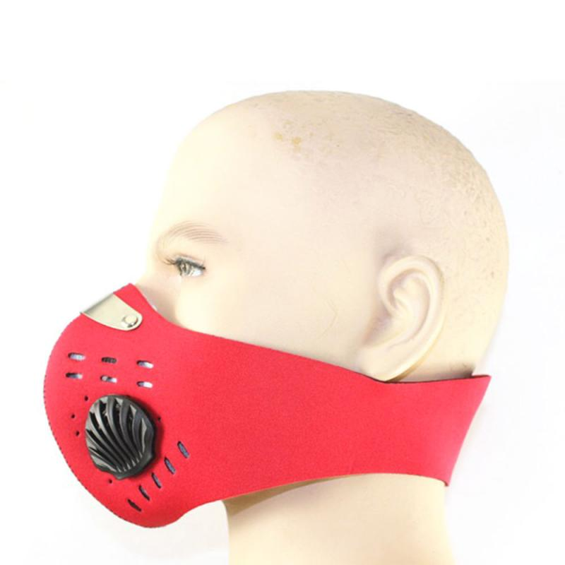 Unisex Cycling Mouth Mask Cotton Anti Haze Anti Dust Nose Protection Activated Carbon Face Mouth Mask Riding Mask Anti Pollution