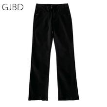 Pants Vintage Trouser Black Jeans Spring Streetwear High-Waist Straight Casual Fashion