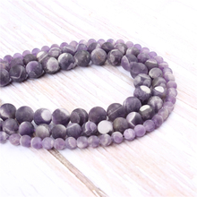 Natural Amethyst Natural?Stone?Beads?For?Jewelry?Making?Diy?Bracelet?Necklace 6/8/10/12?mm?Wholesale?Strand