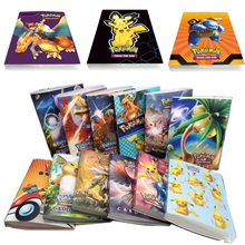 NEW 240pcs Pokemon Card Album Book Kids Anime Game Card Collection Holder Binder Folder Best Selling TAKARA TOMY Toys Child Gift