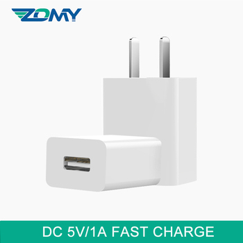Zomy 10W Charger Quick DC 5V/1A Single Port Fast Charge Adapter For Vivo Oppo 3C Safety Certification USB Charges