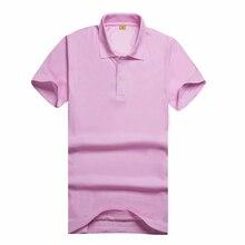 GLENN BERGER 2019 moda damska koszulka polo oddychająca z krótkim rękawem Casual Solid Color bawełna wysokiej jakości koszulka polo Femme