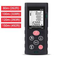 Digital Distance Meter Range Finder Measure Tape Portable Measure Tool Backlit LCD Measure Distance Volume Area Ruler Tools