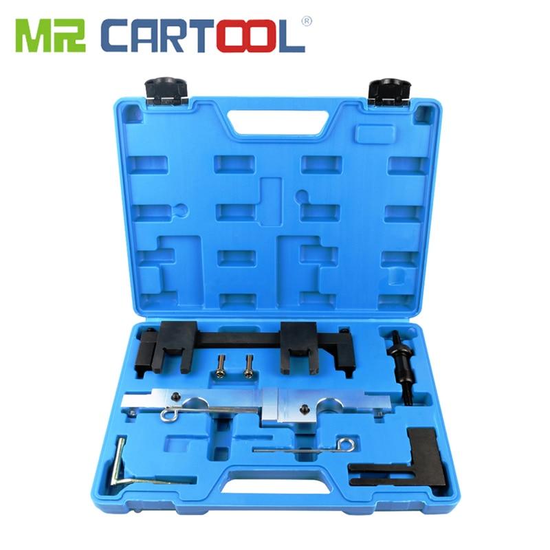 MR CARTOOL 7Pcs Car Timing Tool Engine Camshaft Locking Timing Tools Set Kit For BMW N43 1.6 2.0 E81 E82 E87 E88 E90 E91 E92 E93