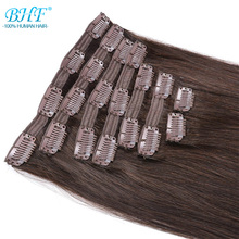 Human-Hair-Extensions Clip-In Natural BHF Full-Head 70g-To-140g-Clip Ins 100%Remy