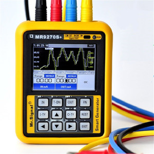 Image 1 - Mr9270s + 4 20ma gerador de sinal, gerador de sinal de calibração tensão atual pt100 transmissor de pressão termopar frequência pid