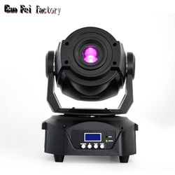dj lights moving head led 90w moving head gobos with prism spot lights for bar club boat effect stage lighting