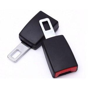 Image 2 - 1Pc 車の安全ベルトエクステンダーシートベルトカバーシートベルトパディング延長バックルプラグバックルシートベルトクリップ車のアクセサリー