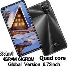 Примечание: 9s смартфонов 4G Оперативная память + 64G Встроенная память 6,72 дюймов 4 ядра 8MP + 13MP прочная защитная пленка/задняя Камера Android мобиль...