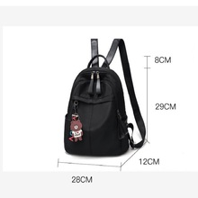 Fashion Women Canvas Backpacks Ladies School Bag Backpack USB Rucksack for Girls Travel Bag Bolsas Mochilas