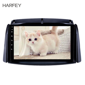 Harfey Car Unit Radio 9Inch GPS Multifunction Player Android8.1 for 2009-2016 Renault Koleos With USB AUX Support 3G Network DVR